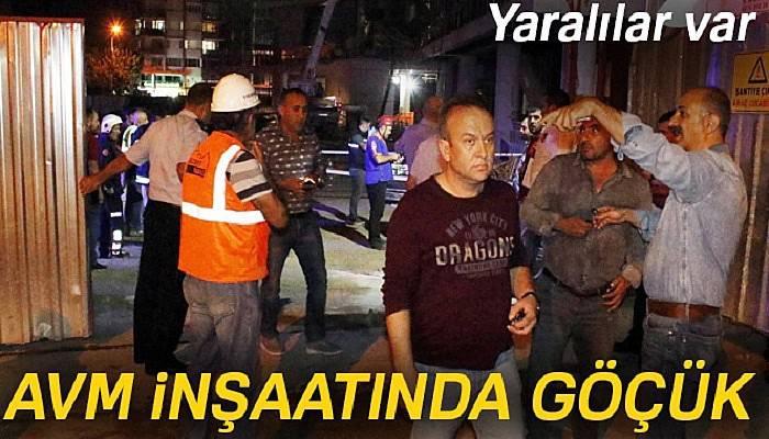 Alışveriş ve kültür merkezi inşaatında göçük: 7 yaralı
