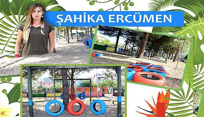 Kepez'e Şahika Ercümen Survivor Parkı