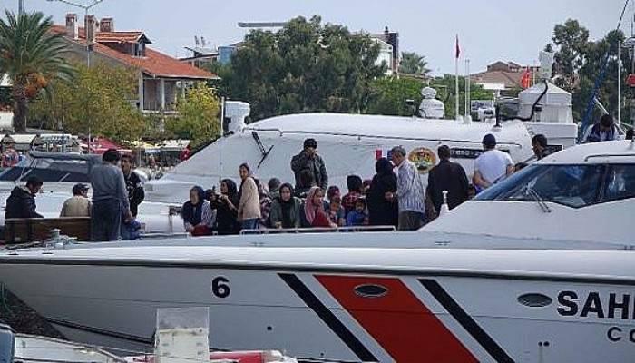 Çanakkale'de 215 kaçak göçmen yakalandı (VİDEO)