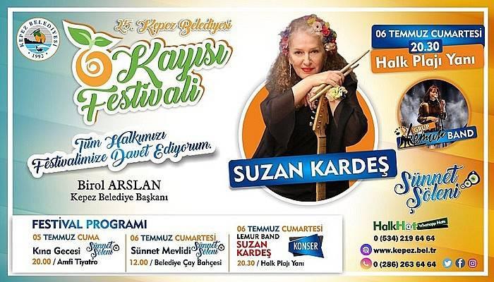 Kepez'de Kayısı Festivali Coşkusu