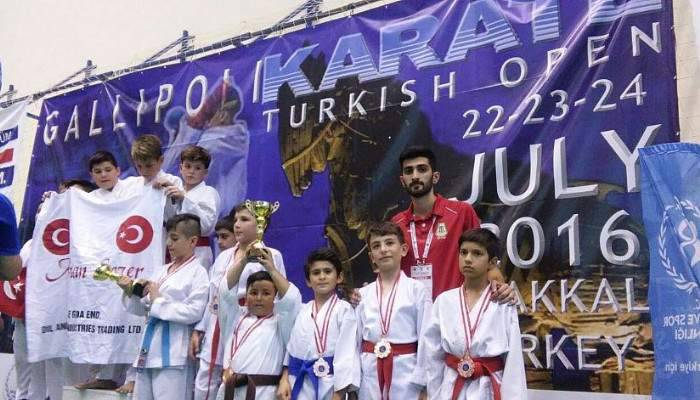 Turkish Open karate şampiyonası yapıldı