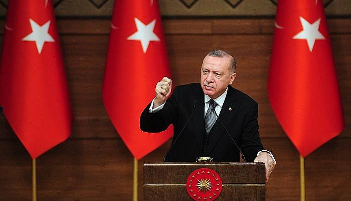 """Cumhurbaşkanı Erdoğan: """"200-250 bin mülteci sınırımıza doğru hareket halinde"""""""