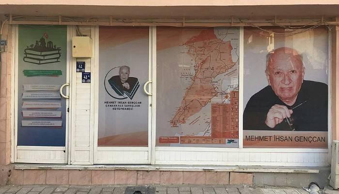 Mehmet İhsan Gençcan anısına 'Çanakkale Savaşları Kütüphanesi'
