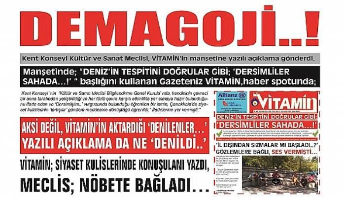 DEMAGOJİ..!