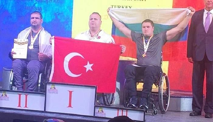 Milli sporcumuz dünya şampiyonu oldu