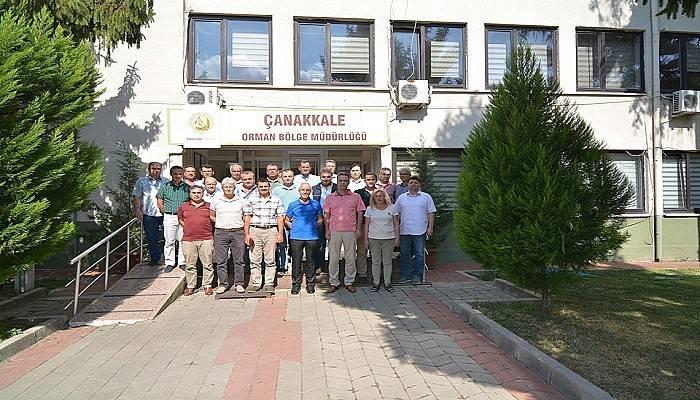 Ulusoy Çanakkale'de son toplantısını yaptı