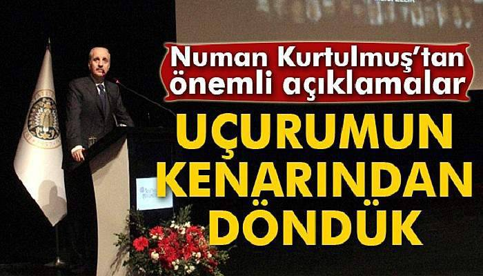 Kurtulmuş, Atatürk Üniversitesi akademik yıl açılışına katıldı