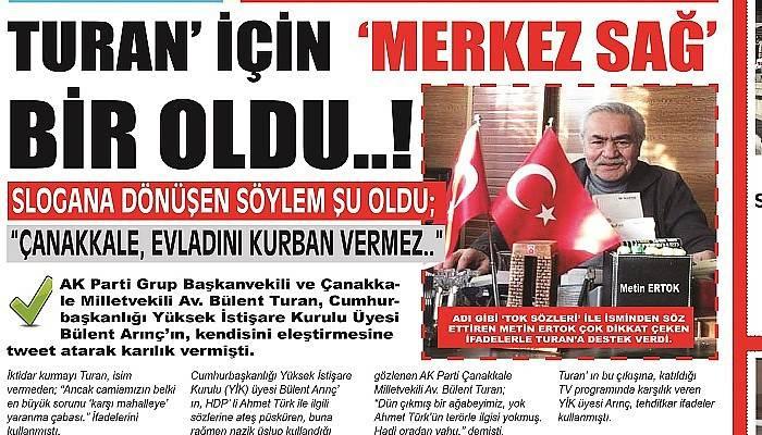TURAN' İÇİN 'MERKEZ SAĞ' BİR OLDU..!