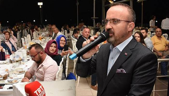 AK Parti'li Turan: Halk ne derse 23 Haziran'da karar verecek (VİDEO)
