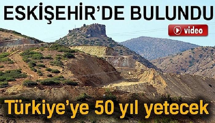 Türkiye'nin 50 yıllık incisi Eskişehir'de bulundu