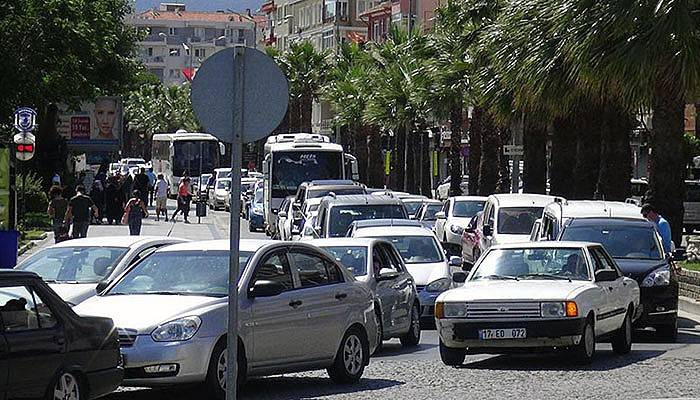 Çanakkale otomobil sayısı ile Türkiye'de 7'nci