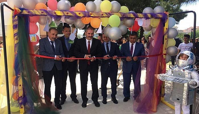 Eceabat'ta Bilim Fuarı düzenlendi