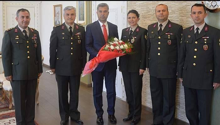 İl Jandarma Komutanlığından Erkal'a Ziyaret