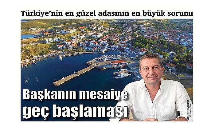 Türkiye'nin en güzel adasının en büyük sorunu