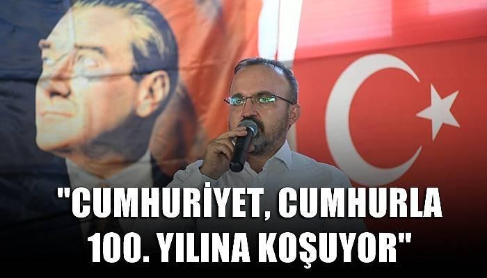 Ak Parti'li Turan'dan 29 Ekim Cumhuriyet Bayramı Mesajı