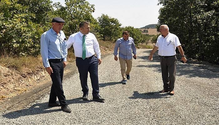 Beyçayır Köyü'nün yolu artık daha rahat
