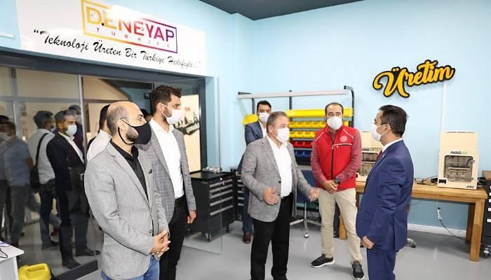 Vali Aktaş, Gençlik Vakfı temsilciliği ile buluştu
