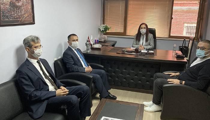 Vali Aktaş'tan Gazeteciler Cemiyeti'ne ziyaret