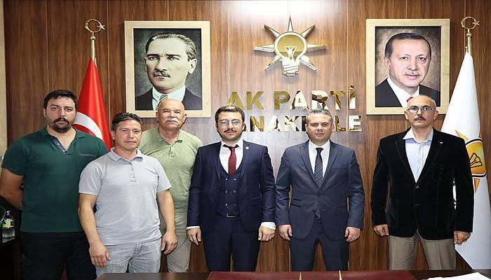 Vatan Partisi'nden AK Parti'ye ziyaret