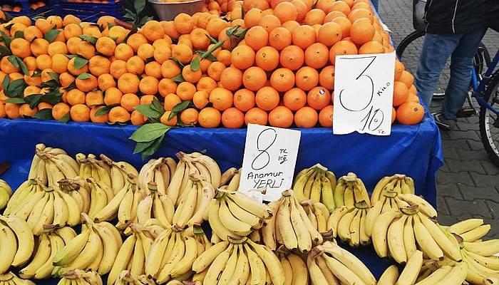 Meyve fiyatları cep yaktı
