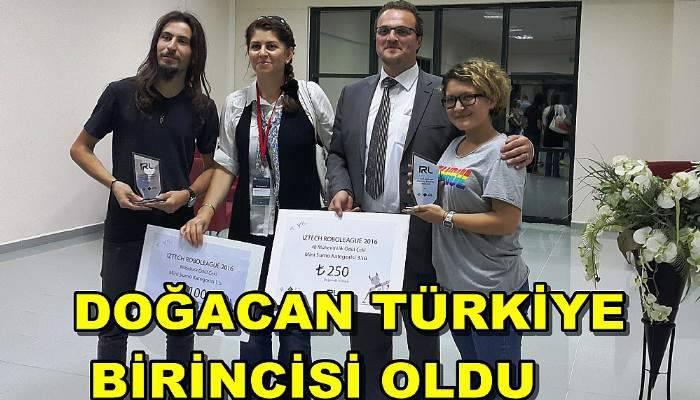 'doğaCAN' Türkiye birincisi oldu