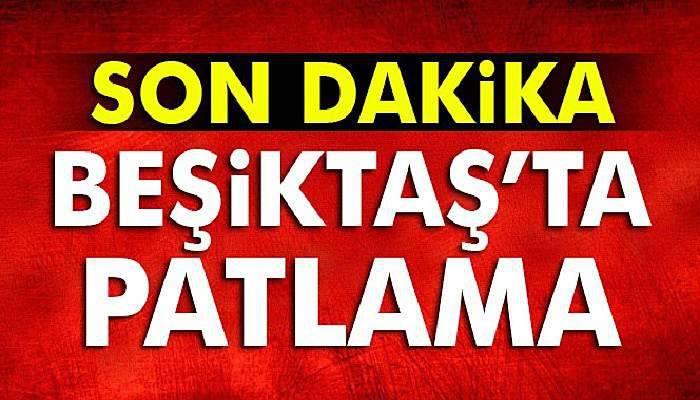 Beşiktaş'ta patlama, İstanbul Beşiktaş'ta şok patlama... İşte ilk görüntüler...
