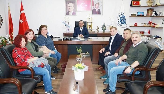 Başkan Erdoğan'a Hayırlı Olsun Ziyaretleri Sürüyor