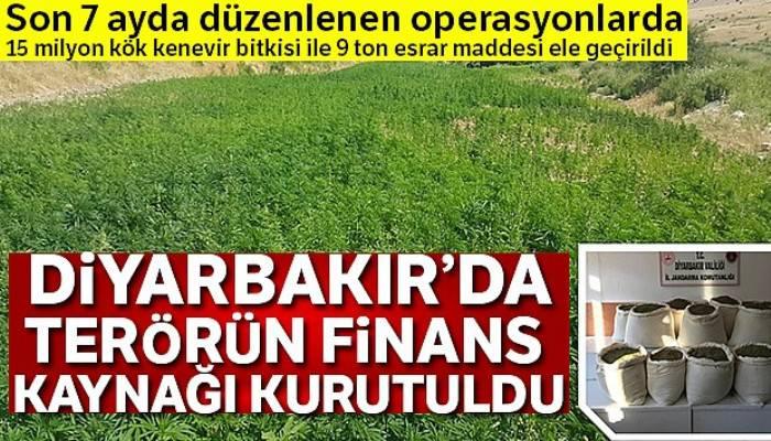 Diyarbakır'da terörün finans kaynağı kurutuldu