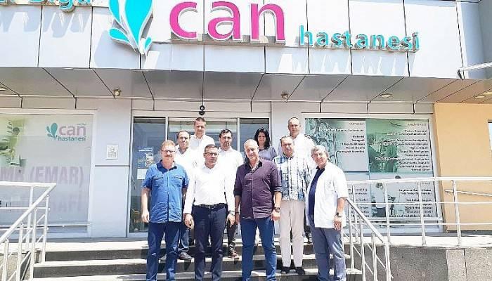 Belediye Başkanından Özel Biga Can Hastanesine Ziyaret
