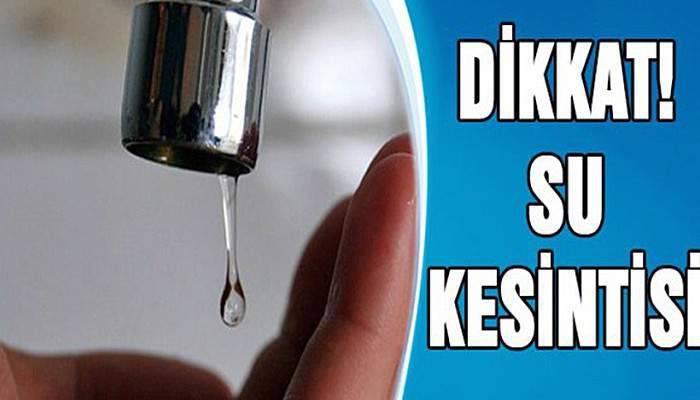 Çanakkale'de Perşembe günü su kesintisi!