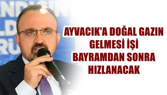 Ak Parti'li Turan'dan doğal gaz açıklaması
