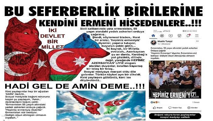 BU SEFERBERLİK BİRİLERİNE KENDİNİ ERMENİ HİSSEDENLERE..!!!