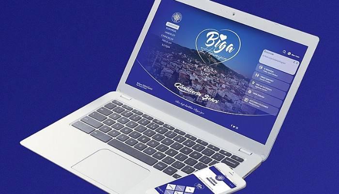 Biga Belediyesi Web Sitesi ve Mobil Uygulamaları Yenilendi
