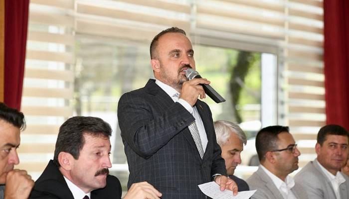 """Turan """"Ordu göreve diyenler PKK'ya sessiz kalıyor"""""""