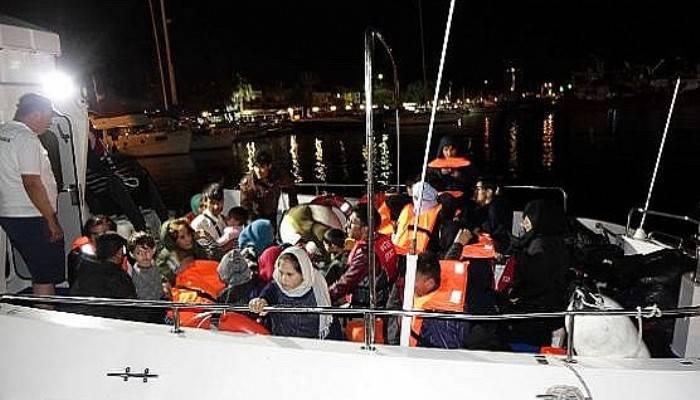 Çanakkale'de 32 kaçak göçmen yakalandı (VİDEO)