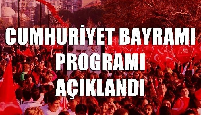 29 Ekim Cumhuriyet Bayramı 97. Yıldönümü Çanakkale Programı
