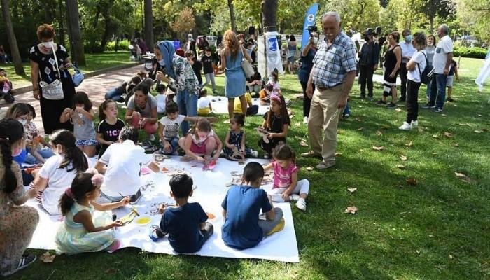 Çocuklar Barış İçin Bir Araya Geldi