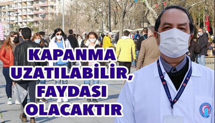 Enfeksiyon Hastalıkları Uzmanı Prof. Dr. Alper Şener; KAPANMA UZATILABİLİR, FAYDASI OLACAKTIR