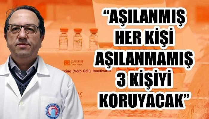 Prof. Dr. Şener: 'ÖLÜMLERİ ENGELLEMENİN TEK YOLU AŞI'