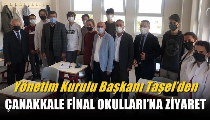 Taşel'den Çanakkale Final Okulları'na ziyaret