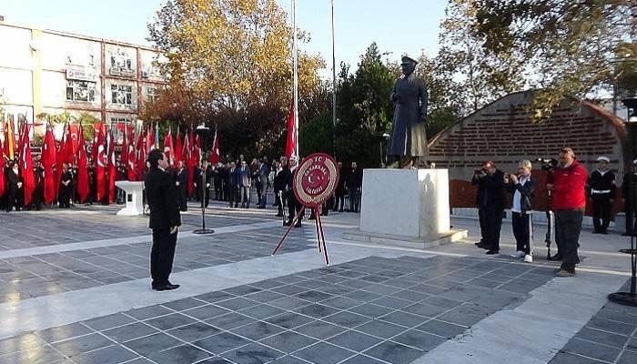 Çanakkale'de Atatürk anıldı (VİDEO)