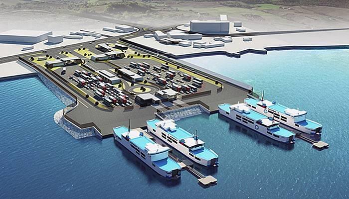 Gelibolu Feribot Terminali 2 yılda bitecek