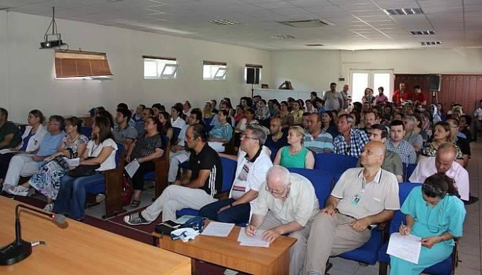 Çanakkale SGK'dan SMMMO yeni yönetimine ziyaret
