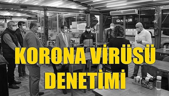 Market, kafe ve restoranlarda koronavirüs denetimi!