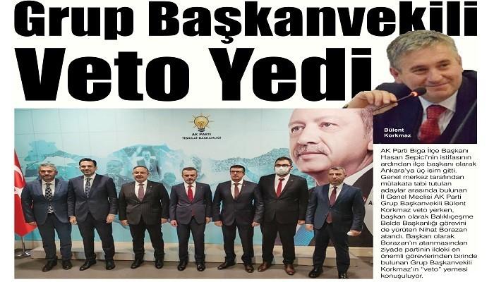 Grup Başkanvekili Veto Yedi