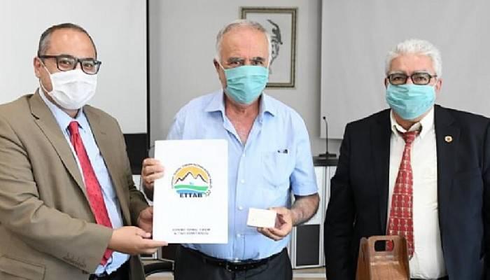 Gökhan, Edremit Termal Turizm Altyapı Hizmet Birliğini ağırladı