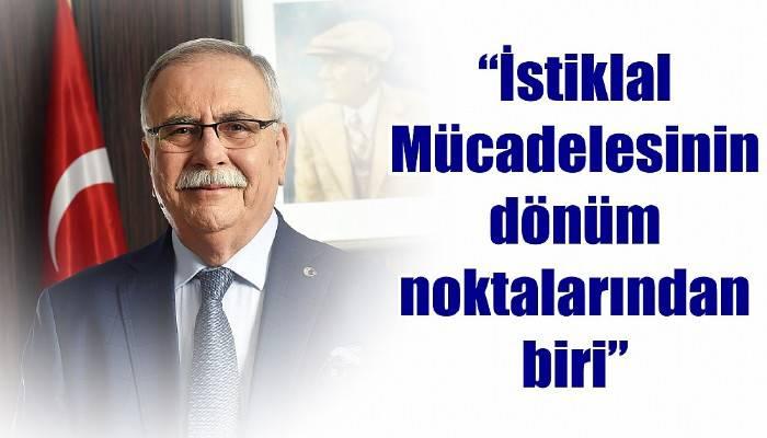Belediye Başkanı Gökhan'dan 30 Ağustos Zafer Bayramı Mesajı
