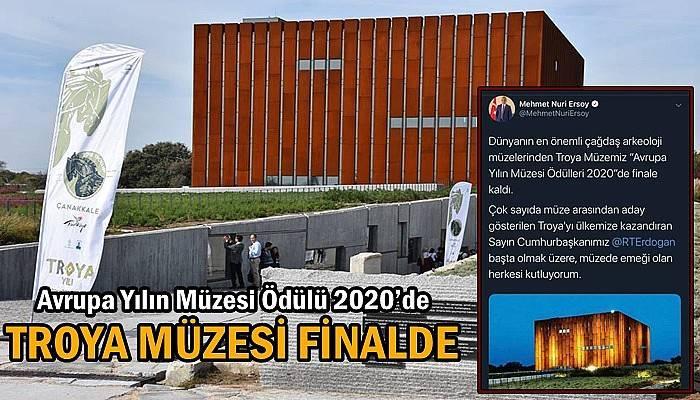 Avrupa Yılın Müzesi Ödülü 2020'de, TROYA MÜZESİ FİNALDE