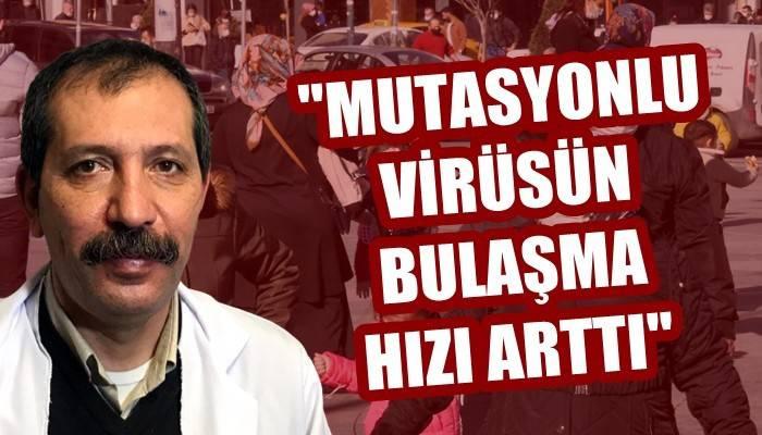 'Mutasyonlu virüsün bulaşma hızı arttı' (VİDEO)