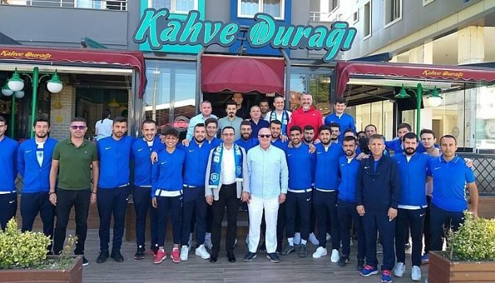 Başkan Erdoğan'dan Maç Öncesi Bigaspor'a Kahvaltı